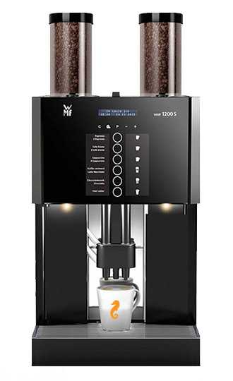 wmf 1200 s koffiemachine caf del mar koffie amsterdam. Black Bedroom Furniture Sets. Home Design Ideas